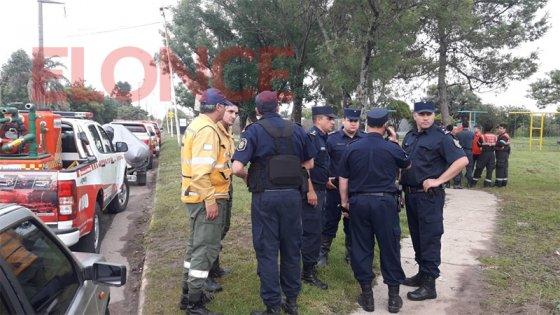 Bomberos de toda la provincia buscan a Fiorella: detalles del operativo