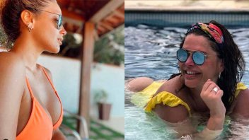Nazarena y Bárbara  Vélez generaron suspiros con sus fotos