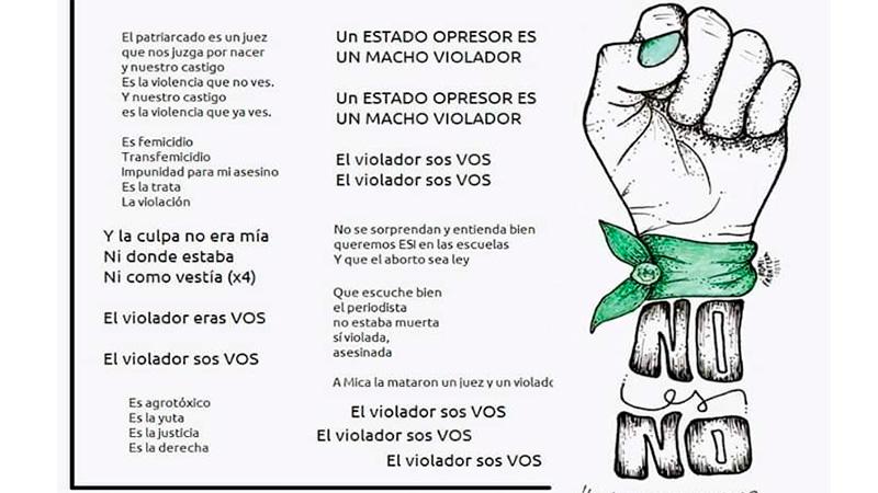 Himno Feminista En Gualeguaychú A Micaela La Mataron Un