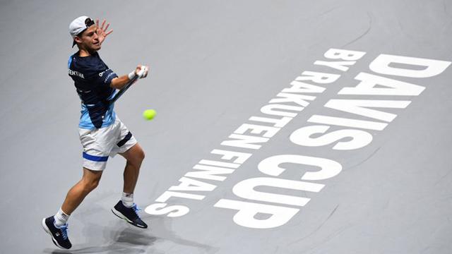 Argentina cedió la llave ante Alemania en la Copa Davis luego de la caida de Schwartzman