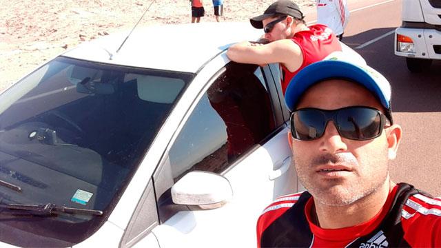 Más de 3500 kilómetros para ver a River: La odisea de los paranaenses rumbo a Lima