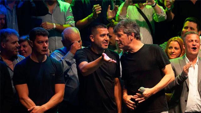 Boca: Cerró la campaña y Riquelme apuntó nuevamente contra el oficialismo