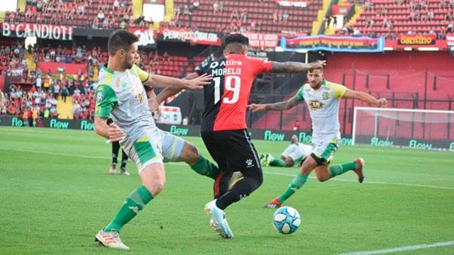 Superliga: Aldosivi le ganó a Colón en Santa Fe y toma aire en los promedios