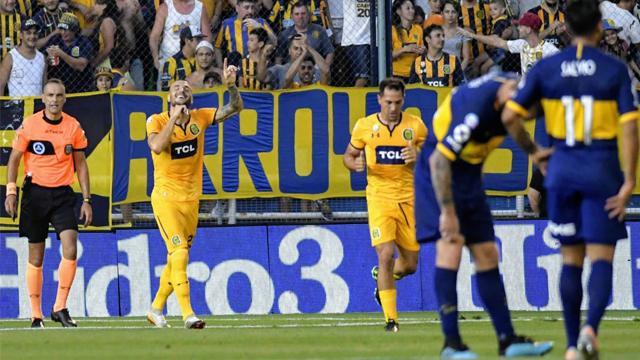 Sebastián Ribas, ex Patronato, le dio el triunfo a Rosario Central por 1 a 0 ante Boca
