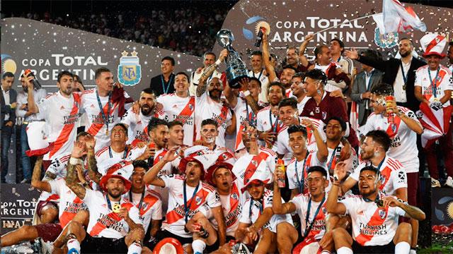 River venció a Central Córdoba y se coronó campeón de la Copa Argentina 2019